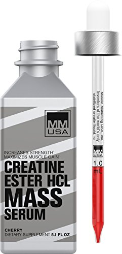Muscle Mass Serum Glucosamine Chondroitin + Stable, Soluble Creatine HCL Formula. Protects Joints, Boosts Energy, Pain Relief, Increases Muscle Cell Volume & Strength. Enhances Anaerobic Capacity