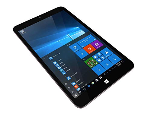 TALIUS, TECH 4 U Zaphyr 8005 W - Tablet professionale da 8', 1920 x 1200, Intel Quad Core Atom Z8350, 4 GB RAM, 64 GB ROM, uscita Micro HDMI, Windows 10, 64 bit (TAL-ZAPHYR-8005W)