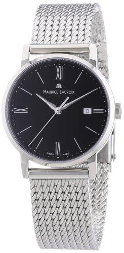 Maurice Lacroix Damen-Armbanduhr XS Eliros Analog Quarz Edelstahl EL1084-SS002-310