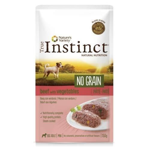 True instinct - Comida húmeda para Perros Adultos minis no Grain paté...