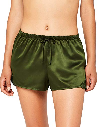Marca Amazon - IRIS & LILLY Pantalón Short de Pijama Mujer
