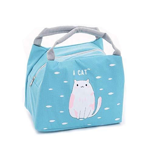 Rolin Roly Sac à Déjeuner Thermique Impermeable Sac Isotherme Voyage Lunch Bag (Chat) …