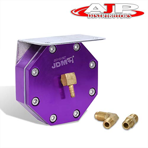 AJP Distributors JDM Sport Purple Fuel Management Unit System For Universal Turbo Turbocharger/Supercharger Performance Upgrade Replacement 6:1 8:1 10:1 12:1 Ratio