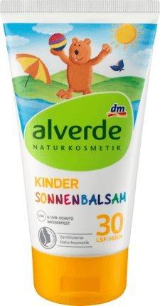 alverde NATURKOSMETIK Kinder Sonnenbalsam LSF 30 (150ml)