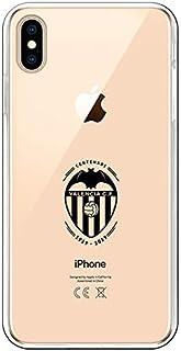 ca0b3562ea9 La Casa de Las Carcasas Carcasa Oficial Valencia CF Escudo Transparente  iPhone XS MAX