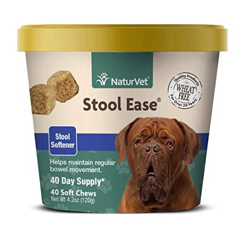 NaturVet – Stool Ease for Dogs – 40 Soft Chews...