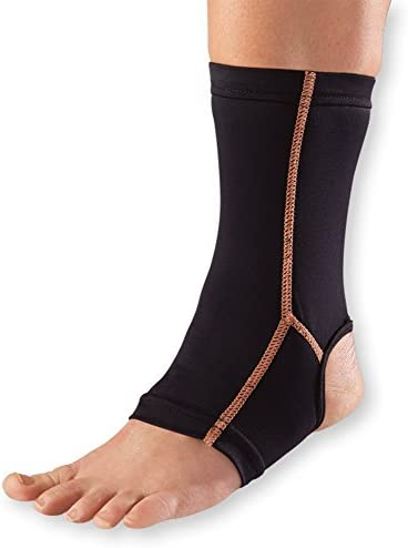 WellWear Copper Ankle Sleeve One Size product image