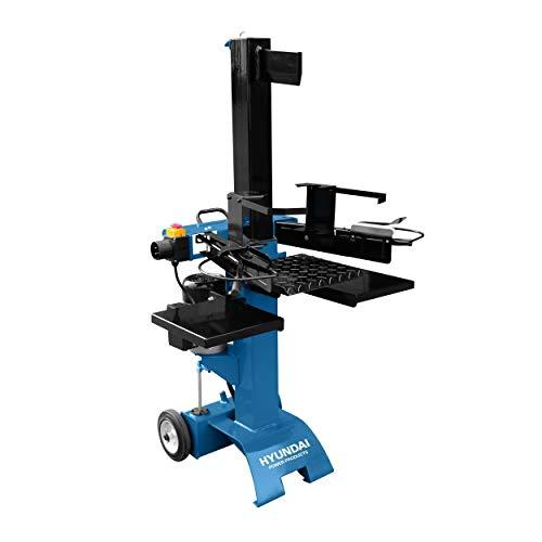 Hyundai houtkloofmachine 2200W - elektrische houtklover/houthakmachine - hydraulische 6 ton houthakker