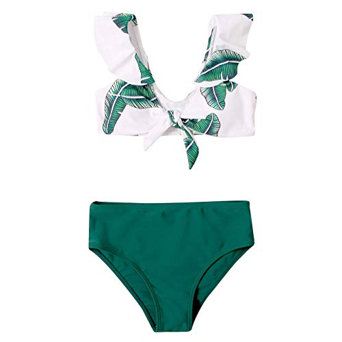 Toddler Baby Girl Summer Lovely Striped Swimsuit Bathing Set 2Pcs Swimwear Pool Beach Outfits