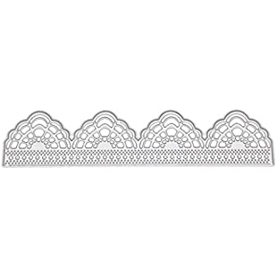 Zohong Metal Cutting Dies, Lace Cutting Dies Cutting Stencil DIY Scrapbooking Embossing Paper Cards Home Decor