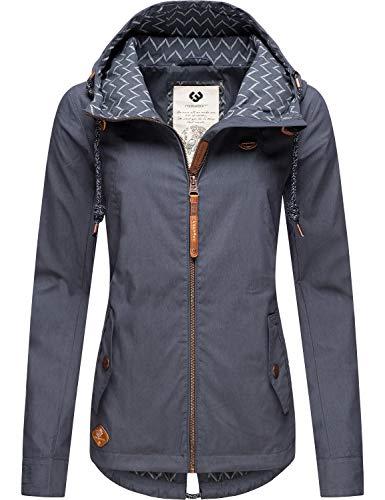 Ragwear Damen Übergangs-Jacke Outdoorjacke Monade Übergang Navy20 Gr. L