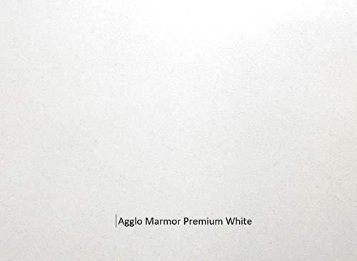Innenfensterbank aus dem Agglo Marmor Premium White   Granitfensterbank   Marmorfensterbank   Ablage *MASSGEFERTIGT*