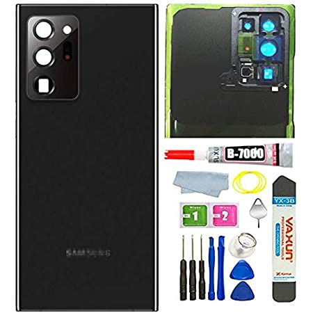 Mystic Black Galaxy Note 20 Ultra Back Cover Glass Replacement w ...