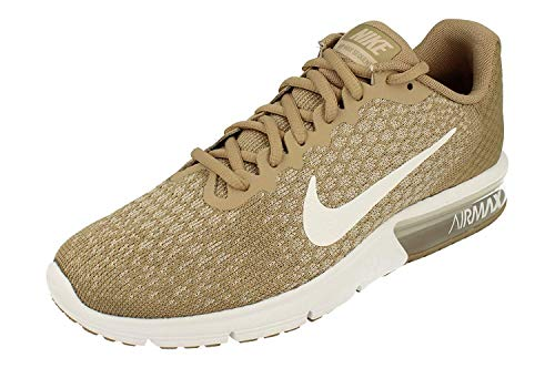 Nike Air MAX Sequent 2 Hombre Running Trainers 852461 Sneakers Zapatos (UK 7 US 8 EU 41, Khaki White String 200)