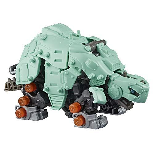 ZOIDS Hasbro Mega Battlers Tanks - Figura de Bestia construible Tipo Tortuga con Movimiento motorizado - Juguetes para niños de 8 años en adelante y más, 53 Piezas (E5544)