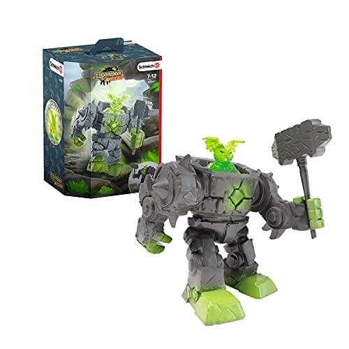 SCHLEICH 42547 Spielfigur - Eldrador Mini Creatures Stein-Roboter (Eldrador Creatures), Mix