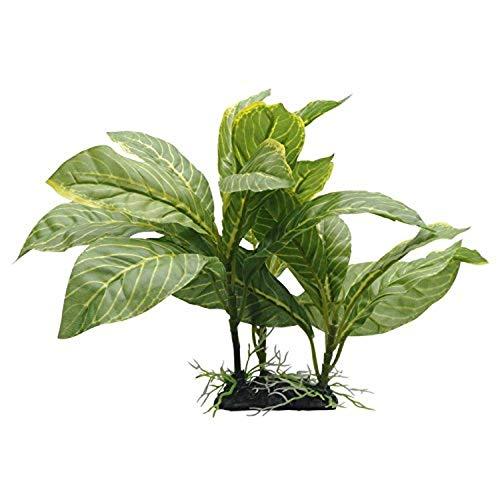 Fluval Spathiphyllum Pflanze für Aquarium, gestreift, 23 cm, Gelb