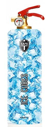 DNC-TAG Safe-T Feuerlöscher Design ICE EIS KRISTALL