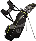 Wilson Teen Profile SGI Complete Golf Set - Teen, Right Hand, Black/Yellow
