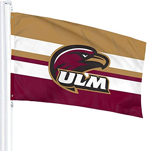 Raycity 3x5 Flag ULM Warhawk Indoor/Outdoor Banner Decorative Flag 100% Polyester Flag
