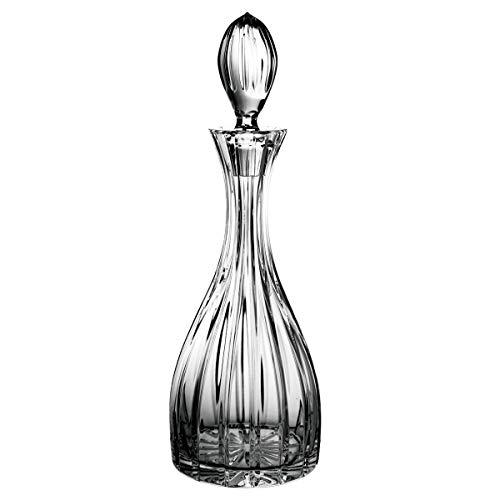 Crystaljulia 04035 - Caraffa per vino, in cristallo al piombo, 1000 ml