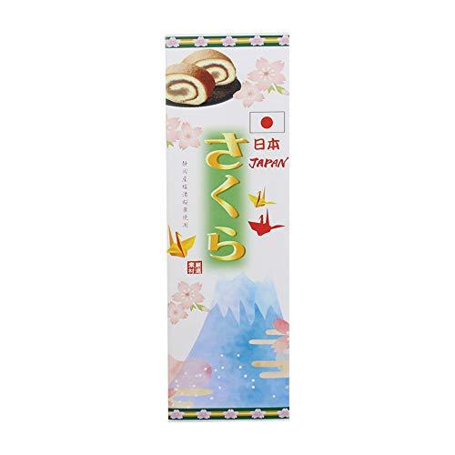 さくら大箱 富士山×36本 イソップ製菓 熊本産小麦粉使用カステラ生地で特製あんを手巻きにした郷土菓子 お土産 インバウンド