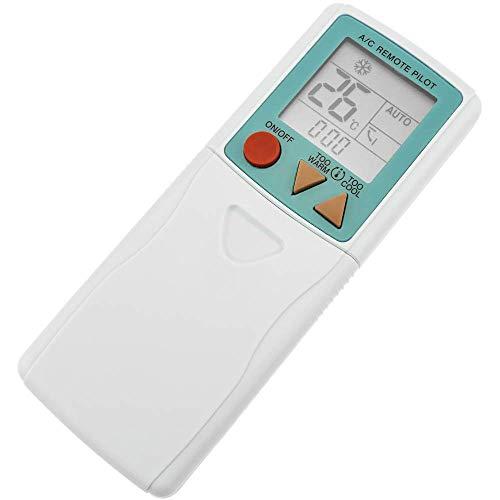 BeMatik - Mando a Distancia Universal. Control Remoto para Aire Acondicionado calefacción y climatización