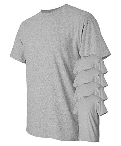 Heavy Cotton 100/% Cotton Tshirt Pack of 12 G500 Orange L