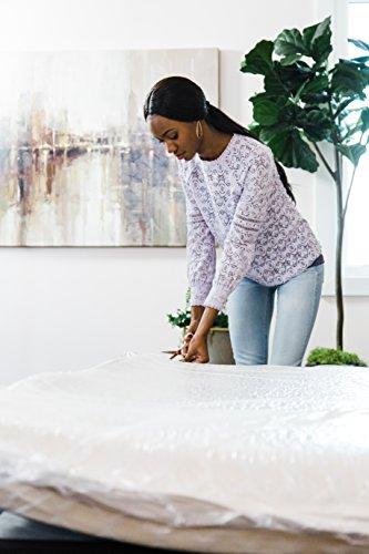 Signature Design by Ashley - 8 Inch Chime Express Memory Foam Mattress - Bed in a Box - Full - White -