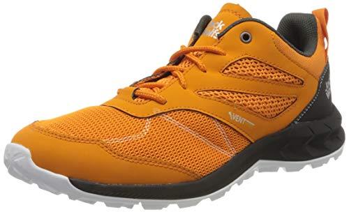 Jack Wolfskin Herren Woodland Vent Low M Cross-Trainer, Orange (orange/Phantom 3567), 42 EU