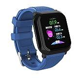 Montres intelligentes, trackers d'activité de remise en forme Bluetooth Smartwatch avec podomètre moniteur de fréquence cardiaque pression d'oxygène sanguin IP68 sommeil étanche pour IOS Android