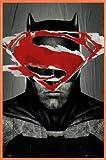 1art1 Batman Vs Superman Poster und Kunststoff-Rahmen - Ben