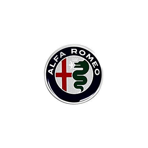 Alfa Romeo 21836Adhesivos 3D Oficiales Logo, DIAM. 40mm