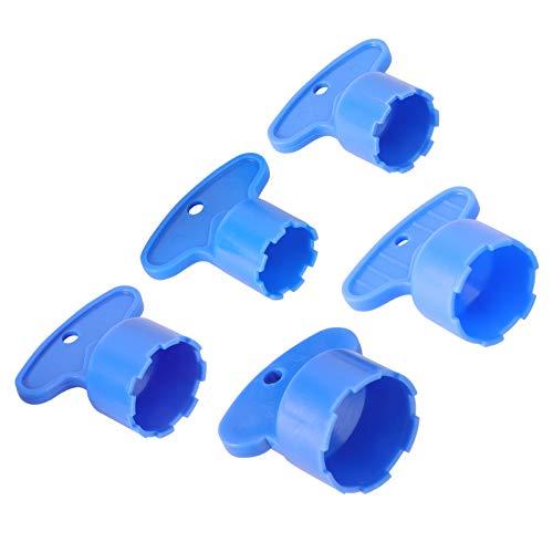 Cabilock 5 unidades de aireador de grifo, aireador de grifo, herramienta para instalar en el núcleo, boquilla de goteo, filtro de grúa, para baño en casa