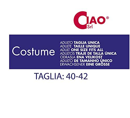 Ciao-Costume Horror Creepy Clown donna, taglia unica, Multicolore, 16072