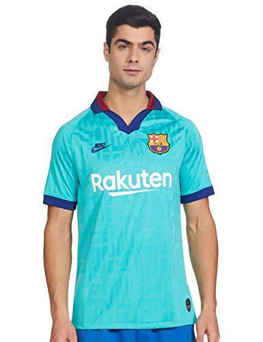 NIKE FC Barcelona Stadium 2019/20 Camiseta, Hombre, Cabana/Deep Royal Blue, S