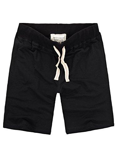 Amy Coulee Sport Men's Sweatpant Shorts (XL, Black)