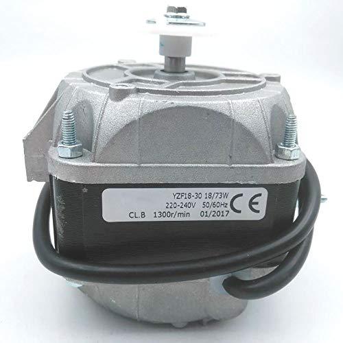 TopHomer 73W Multi Fit Frigorifero Congelatore Ventilatore Motore 1300/1500 RPM Multi-funzione Ventola di Raffreddamento Motore