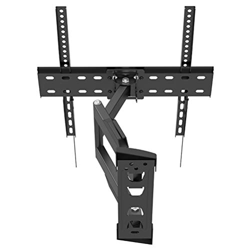 Release Liberación Soporte de Montaje en Pared para TV Giratorio, inclinable y articulado de Movimiento Completo para TV LCD LED de 26-55'hasta 400 x 400 con Cable HDMI