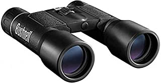 Bushnell Powerview 12x25 Compact Folding Roof Prism Binocular (Black) - 061