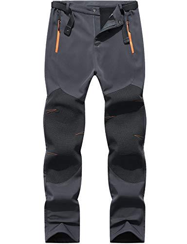 BenBoy Men's Snow Ski Outdoor Waterproof Windproof Fleece Cargo Hiking...