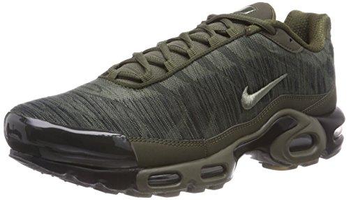 Nike Air Max Plus Jcrd Zapatillas de Gimnasia Hombre, Verde (Cargo Khaki/Dk Stucco/Black/Lt 300), 49.5 EU (14 UK)