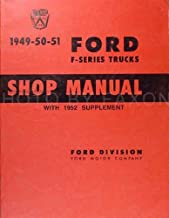 1949 1950 1951 Ford F-Series Truck Service Manual