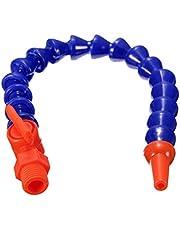 Tubo de refrigerante, boquilla redonda flexible de plástico, manguera de refrigerante de aceite con interruptor