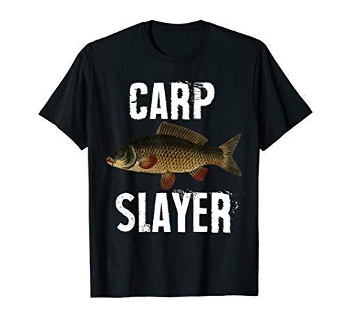 Carp Slayer Funny Fishing T-Shirt