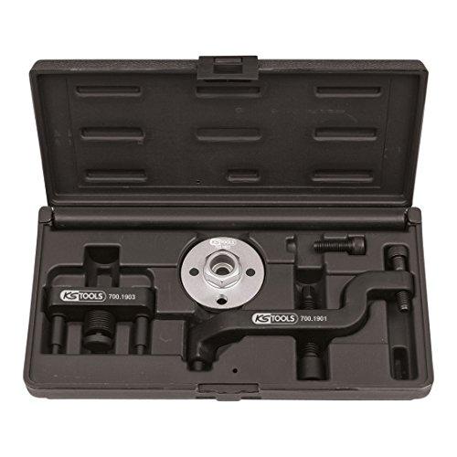 KS Tools 700.1900 VW Outil de démontage pour pompe à eau, ensemble de 3 pièces