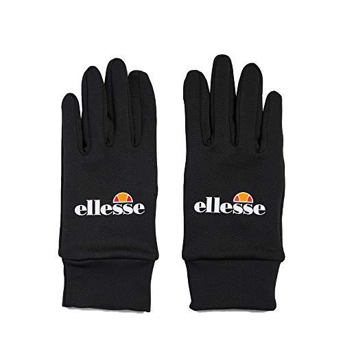 Ellesse Miltan Handschuhe, Polyester, Schwarz, Einheitsgröße