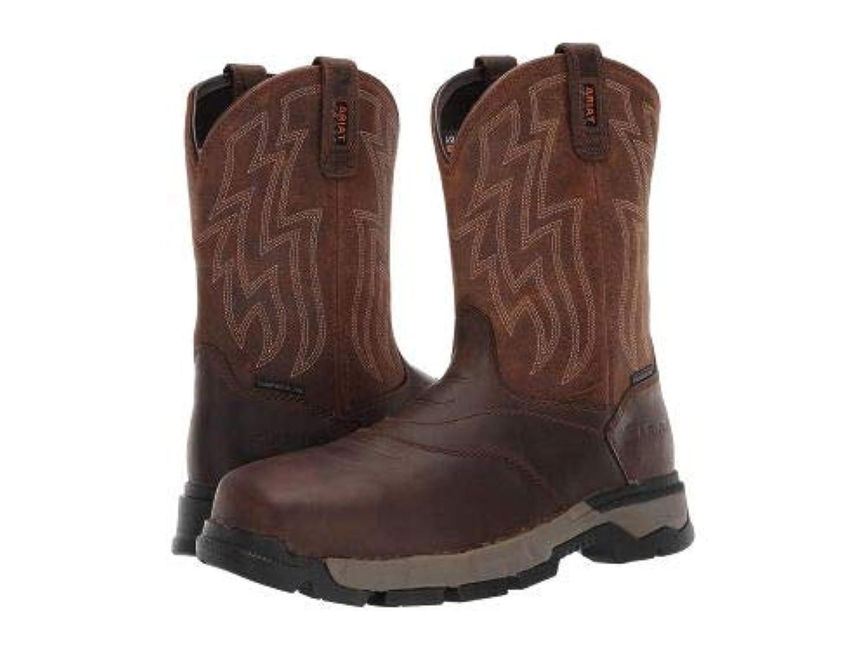 [アリアト] メンズ 男性用 シューズ 靴 ブーツ 安全靴 ワーカーブーツ Rebar Flex Western Composite Toe - Brown [並行輸入品]