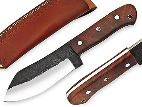 Custom handmade fixed blade knife/Hunting knife/Fixed blade knife/Fixed blade knives/Camping knives/Knife with sheath/Knives with sheath