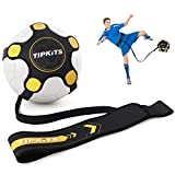 Tipkits Soccer Training Equipment for Kids Adults, Solo Soccer Trainer Belt, with Upgraded Leather Fixation
